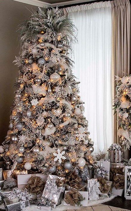35 Amazing Christmas Tree Decoration Ideas You Must Try In 2020 Newyearlights Com