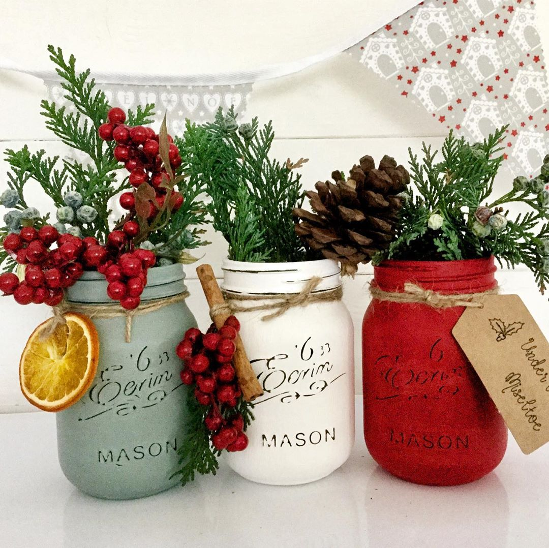 25 Great Christmas Jars Ideas To Decorate Your Home Page 5 Of 24 Newyearlights Com